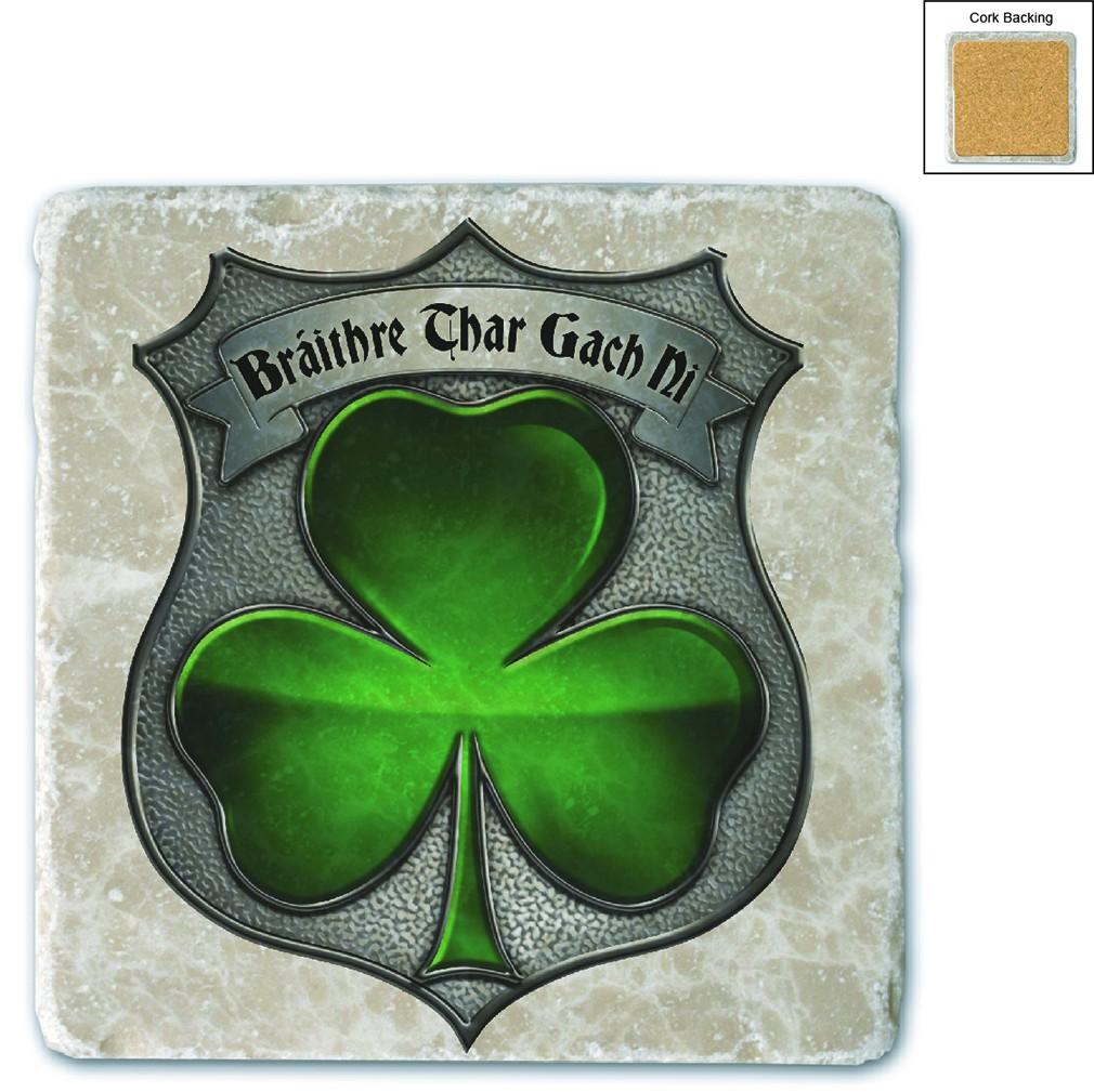 Policeman's Brotherhood Irish Stone Coaster