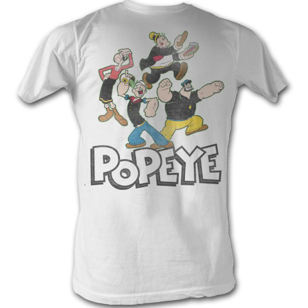 Popeye Pop Group T-Shirt
