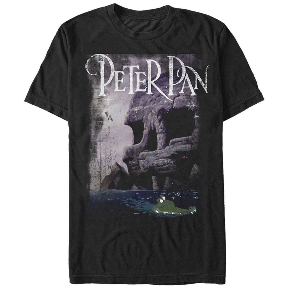 Disney Peter Pan Black T-Shirt
