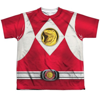 Power Rangers Red Ranger Youth Costume Tee