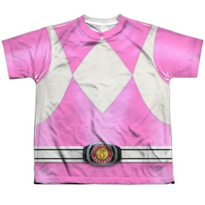Power Rangers Pink Ranger Youth Costume Tee
