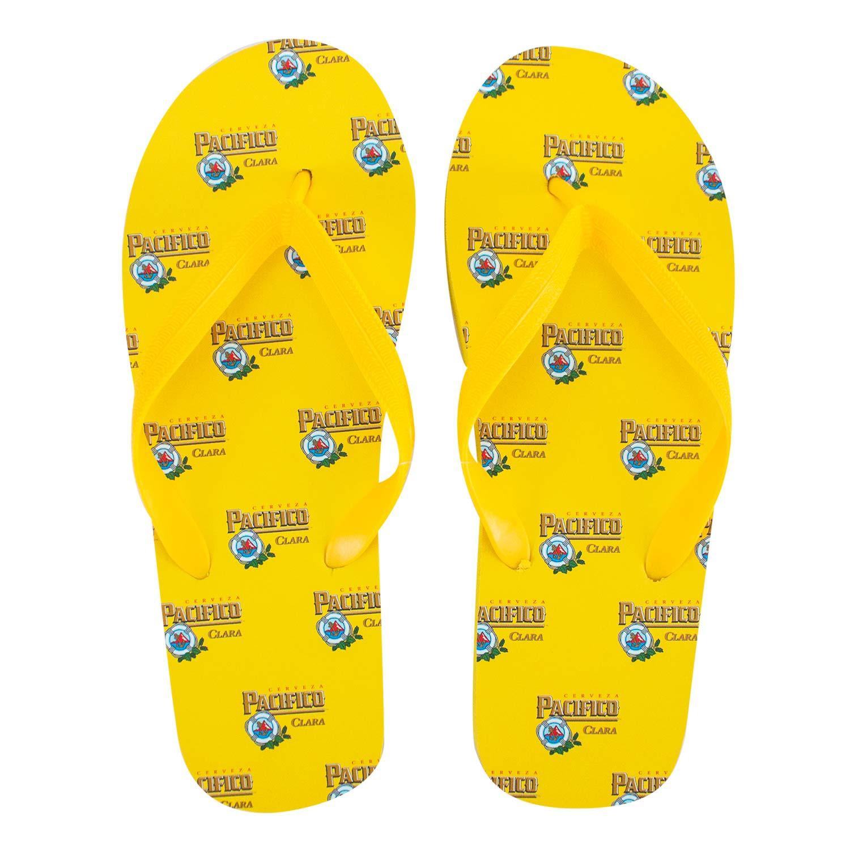 Pacifico Men's Yellow Flip Flops