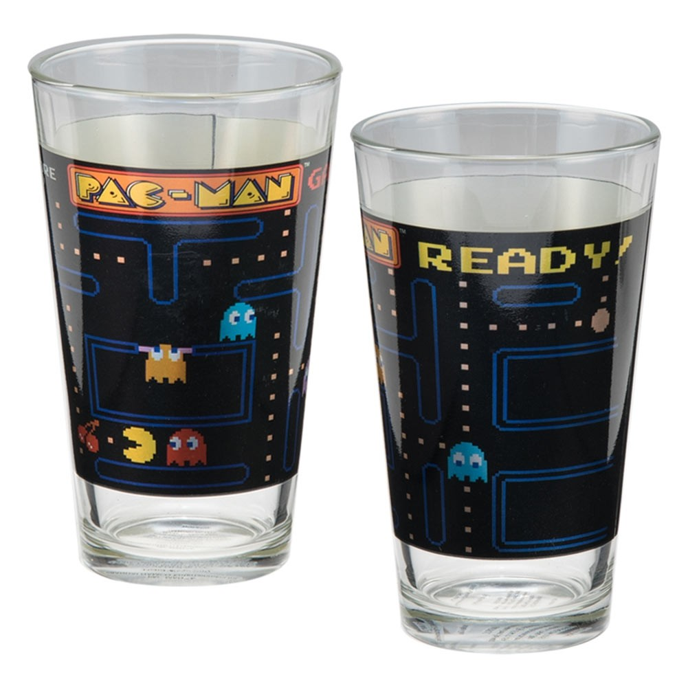 Pacman 2 Pack Pint Glass