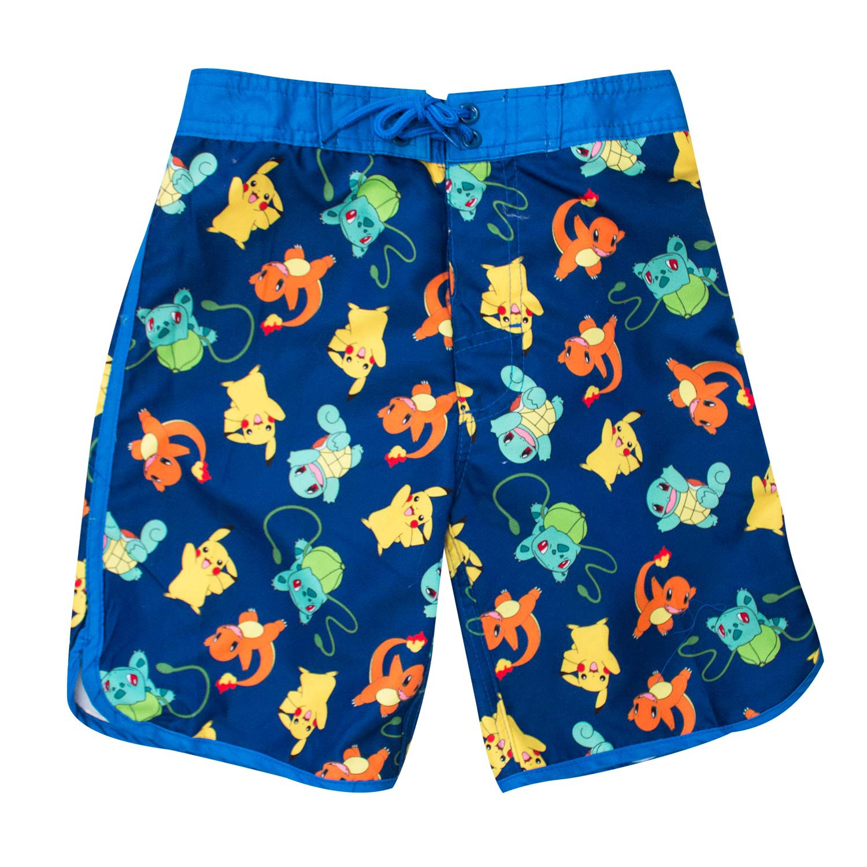 Pokemon Characters Kids Board Shorts