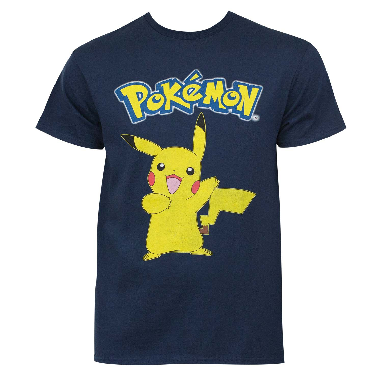 Pokemon Pikachu Navy Blue Tee Shirt
