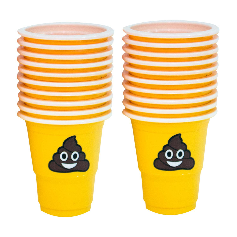 Poop Emoji Shot Glass Pack