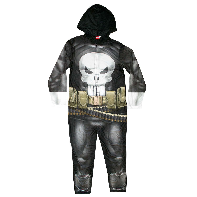 Punisher Men's Pajama Union Suit