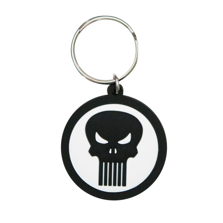 Punisher Logo Keychain