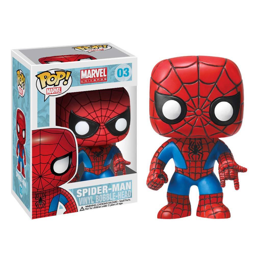 Funko Pop Spiderman Bobble Head