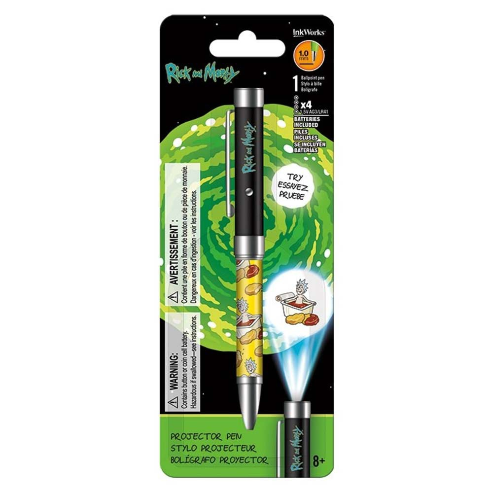 Rick And Morty Projector Pen