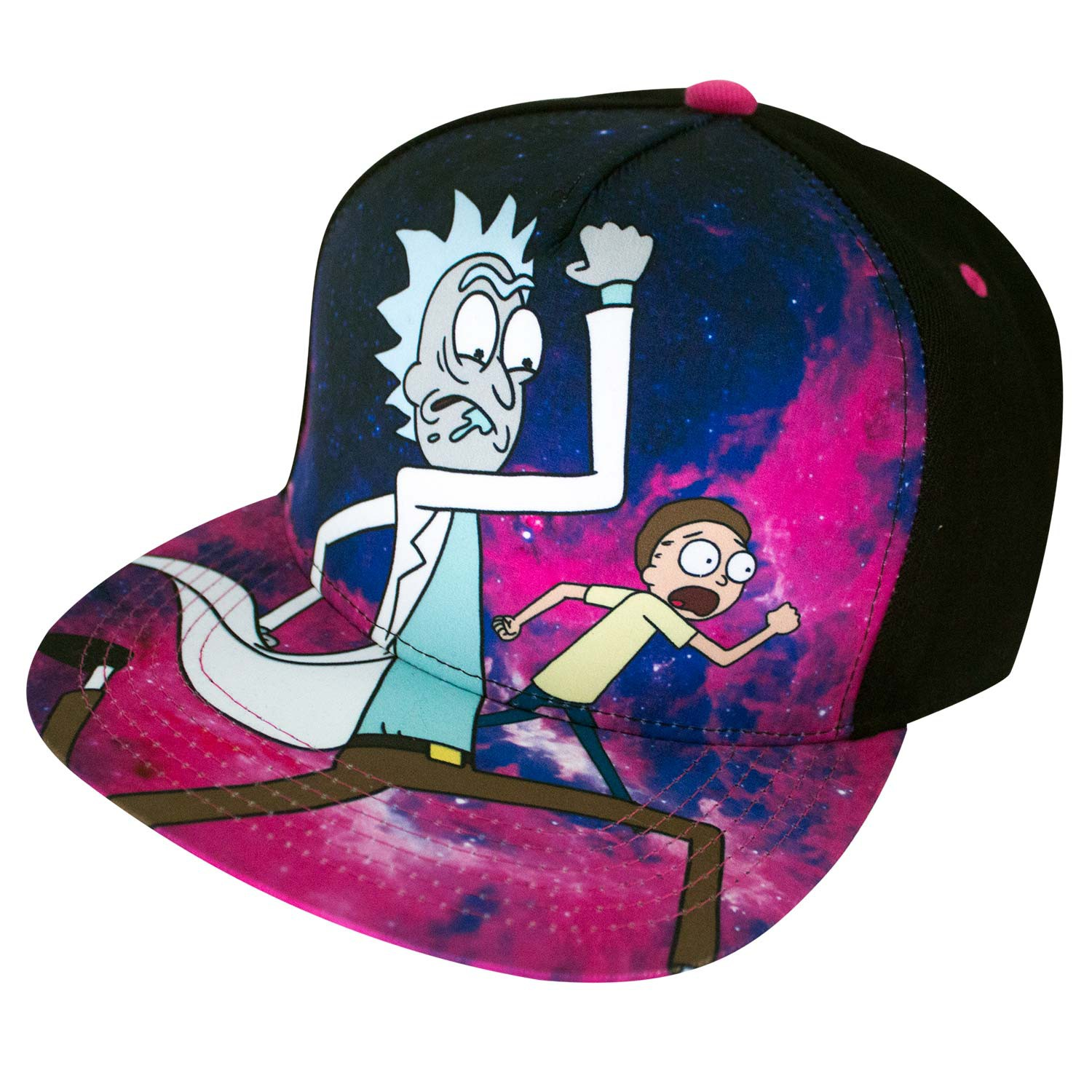 Rick And Morty Cartoon Network Full Color Men's Hat