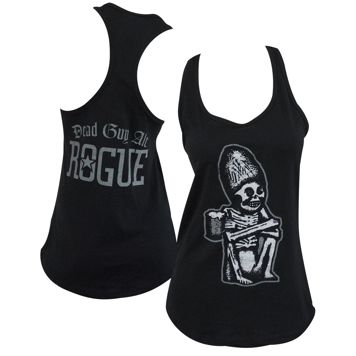 Dead Guy Rogue Women's Black Tank Top