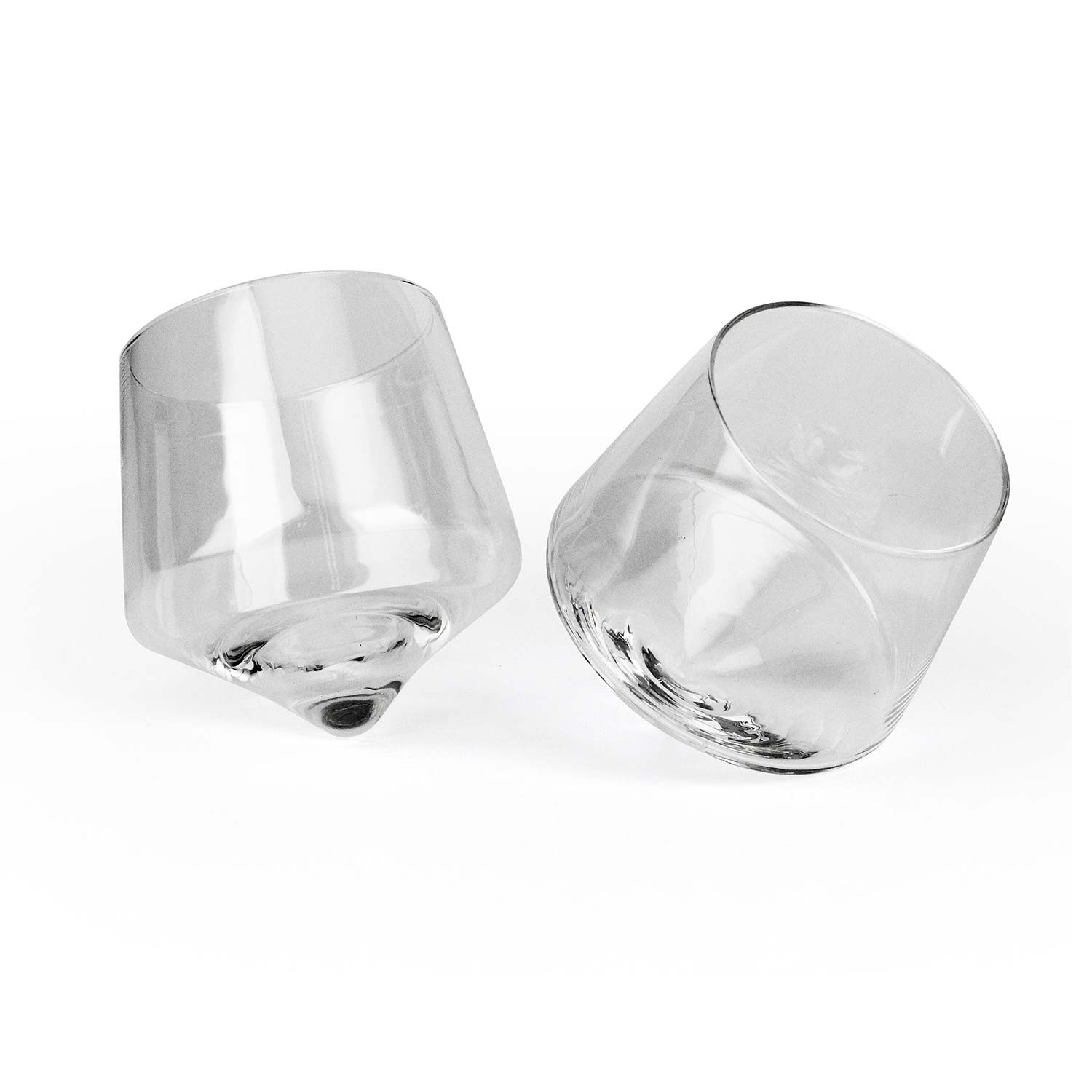 Rolling Whiskey Glass Set
