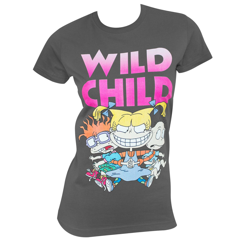 Rugrats Wild Child Angelica Women's Tee Shirt