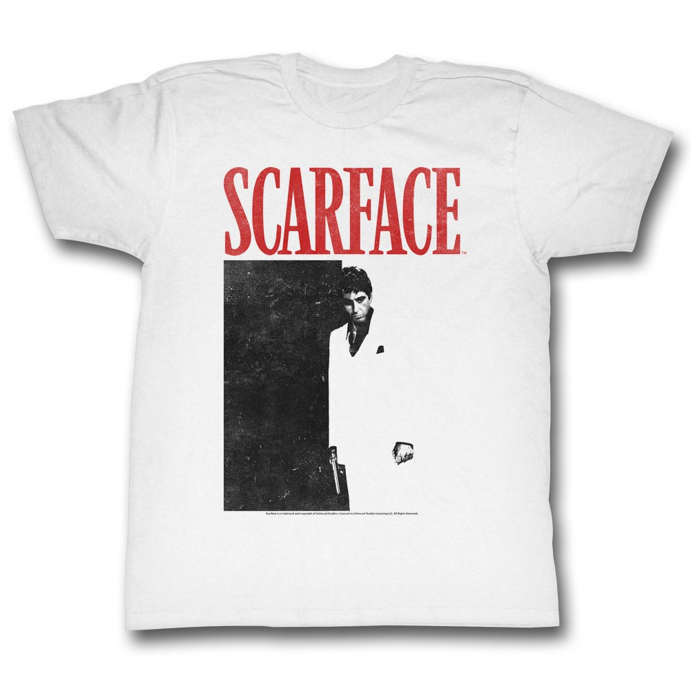 Scarface Black And Red T-Shirt