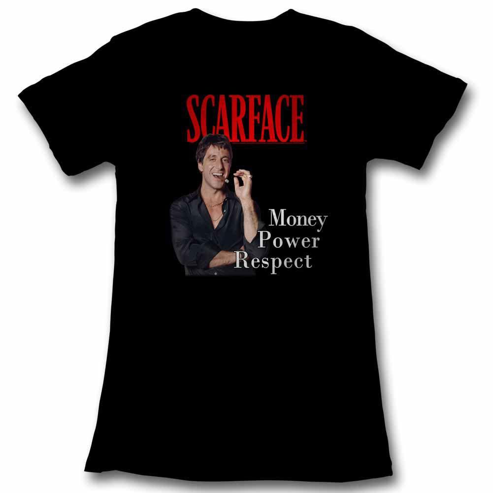 Scarface Mpr Black Juniors T-Shirt