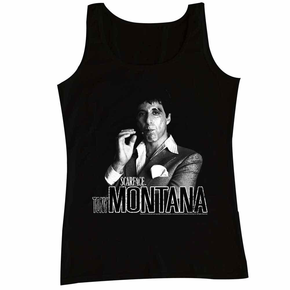 Scarface Tony Tank Black T-Shirt