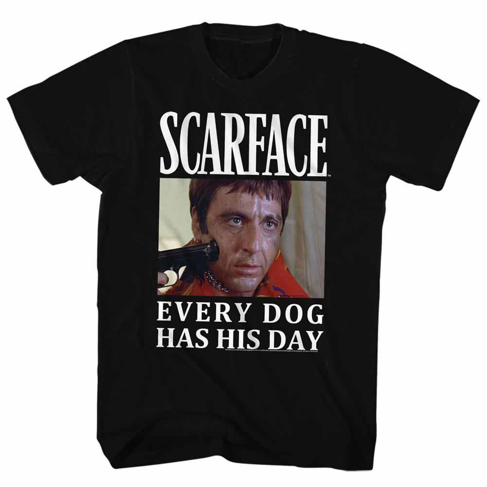 Scarface Doge Black T-Shirt