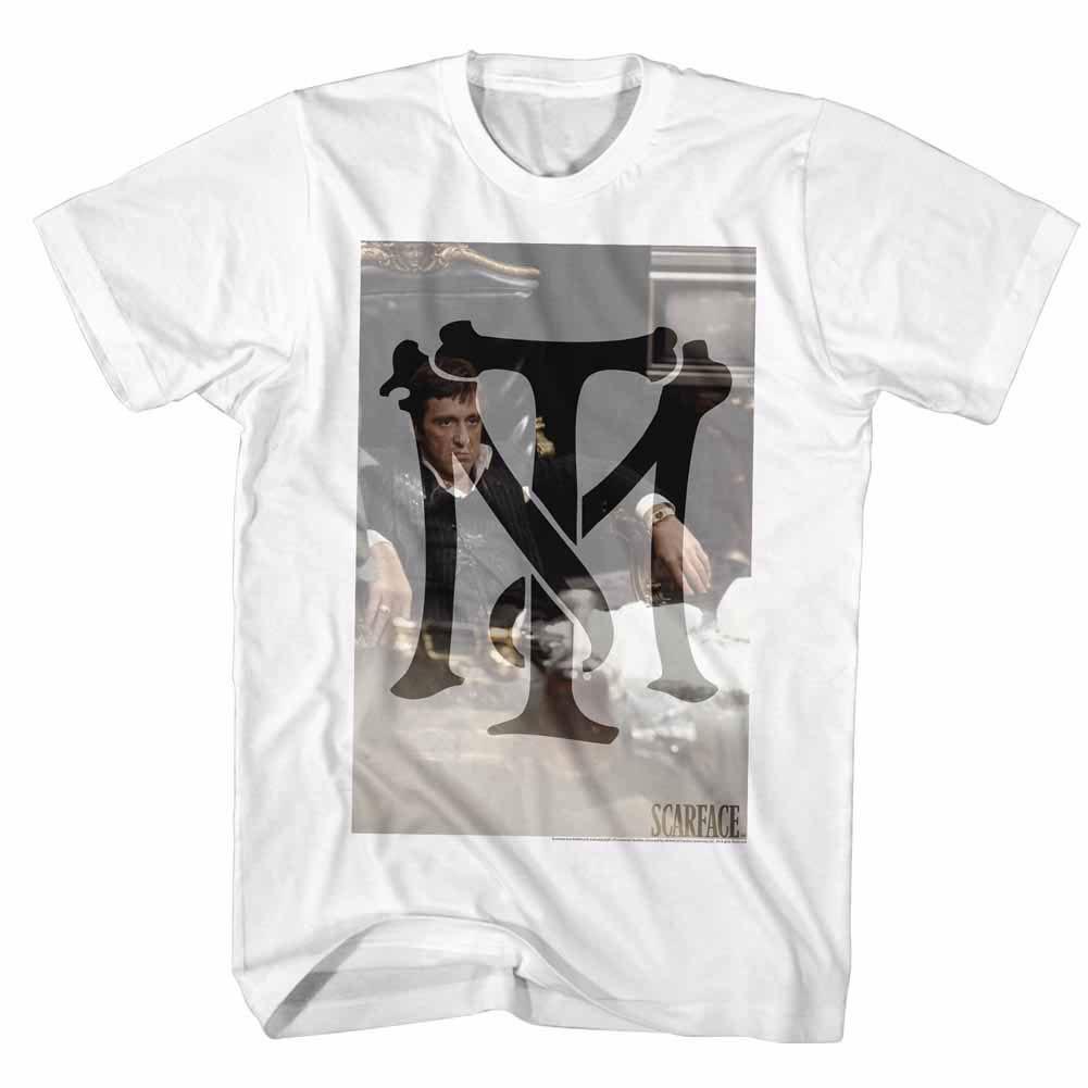 Scarface Tonymontana White T-Shirt