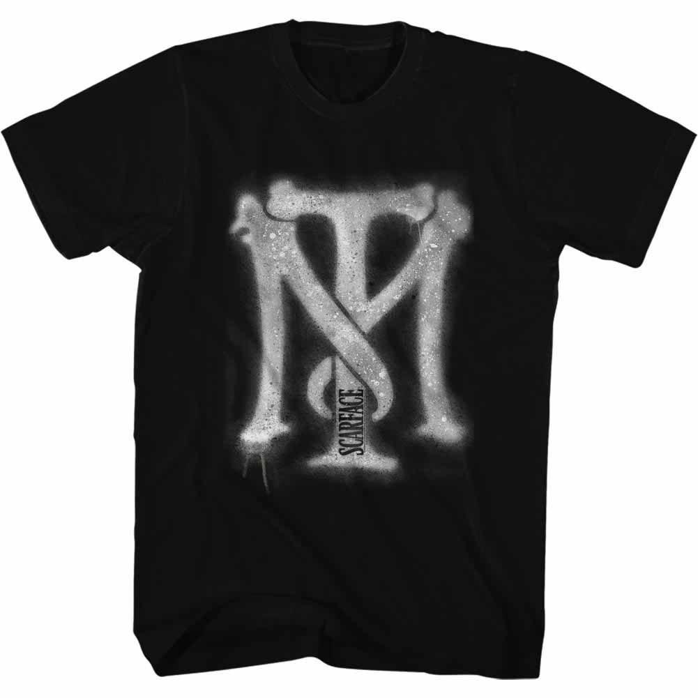 Scarface Spraypaint Black T-Shirt
