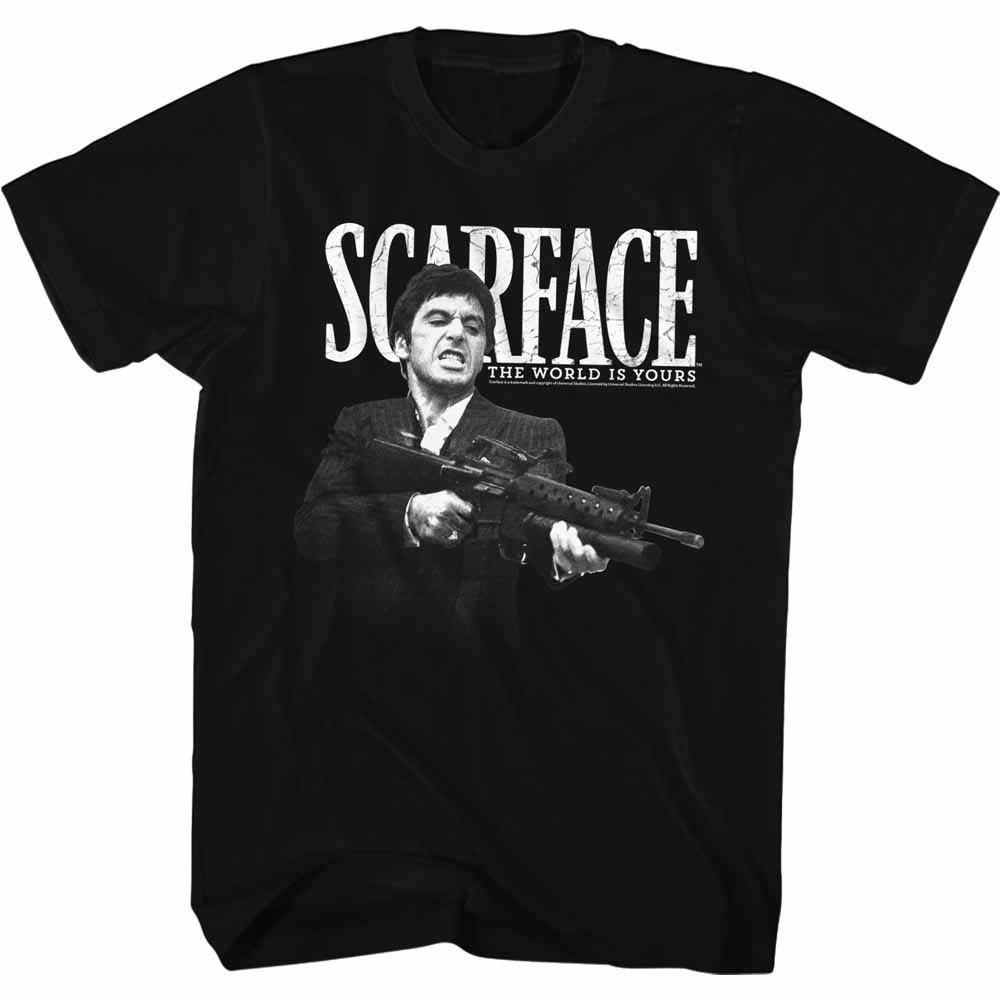 Scarface Scarface Black T-Shirt