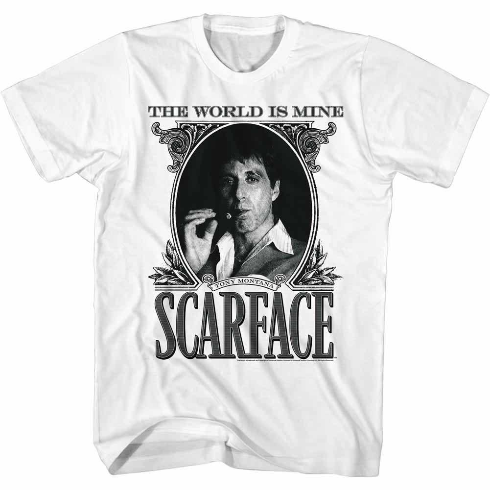 Scarface Dollarface White T-Shirt