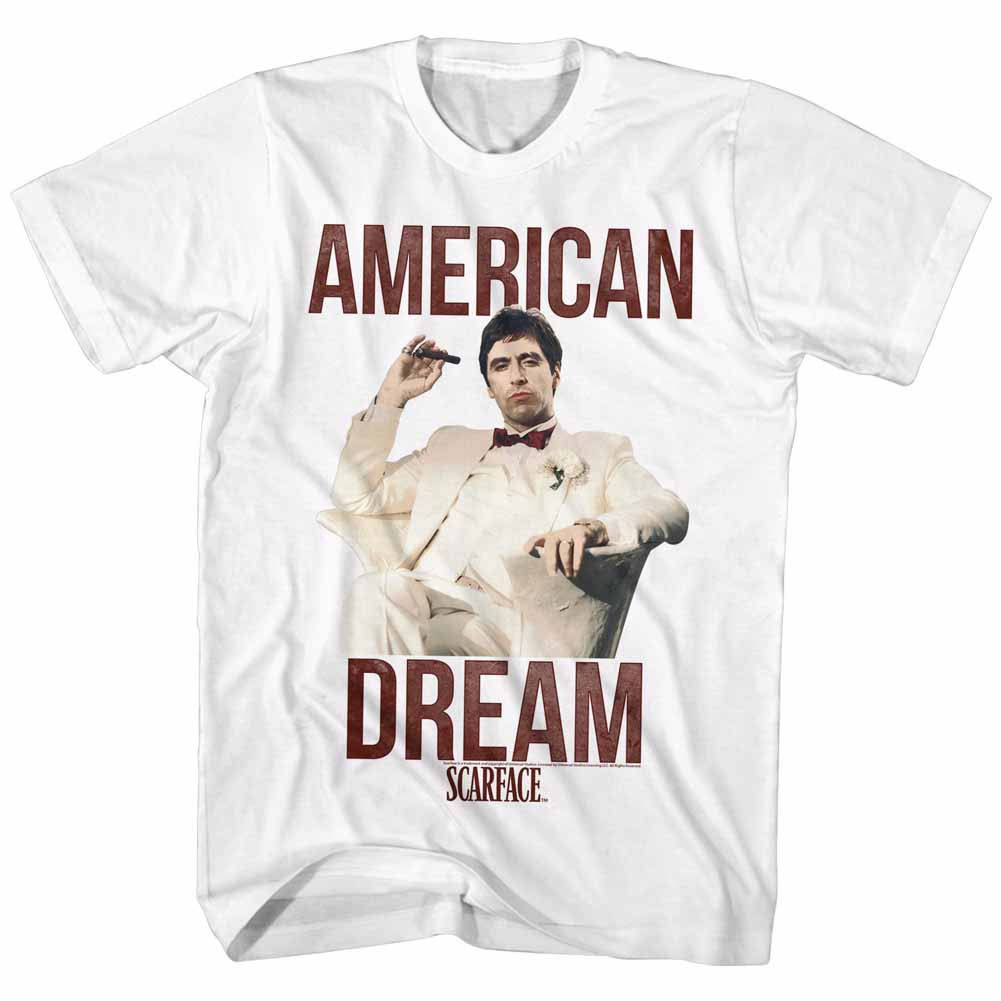 Scarface Americandream White T-Shirt