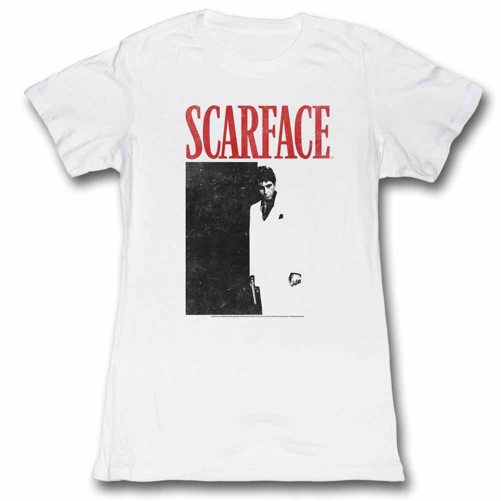 Scarface Tony Close-Up Black T-Shirt