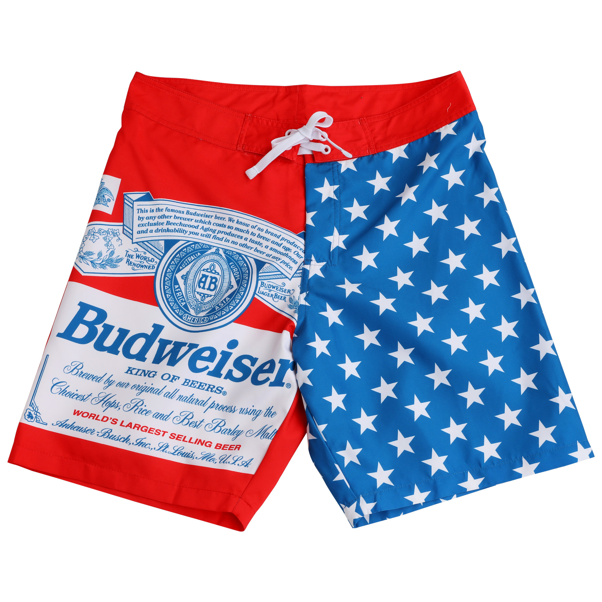 Budweiser Stars and Stripes Board Shorts