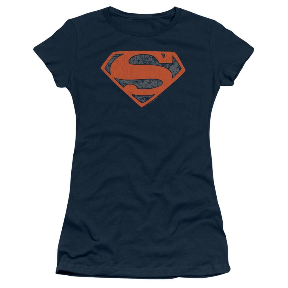 Superman Vintage Shield Women's Tshirt