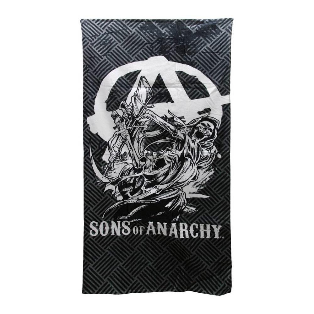 Sons Of Anarchy Grey Beach Towel