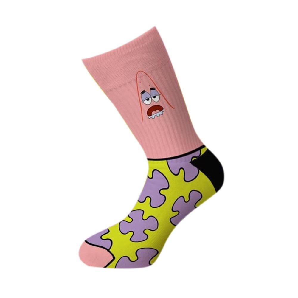 Spongebob Patrick Crew Socks