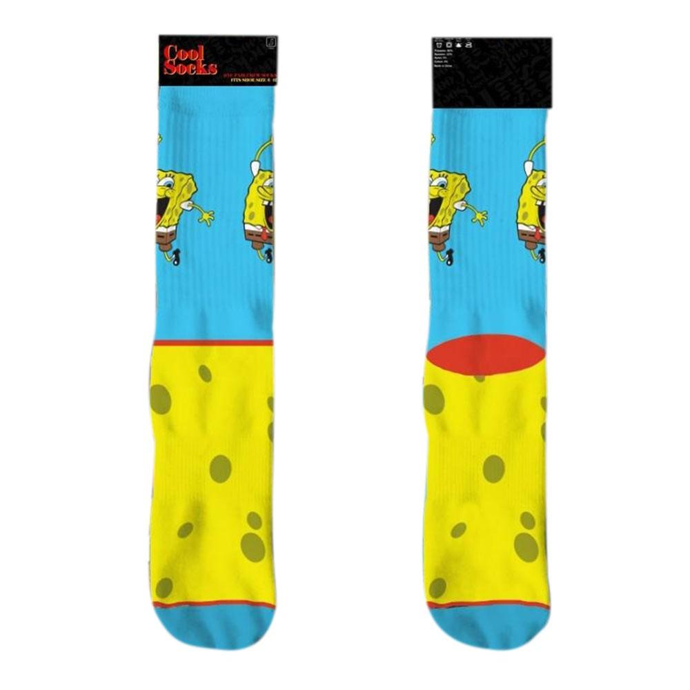 Spongebob Happy Crew Socks