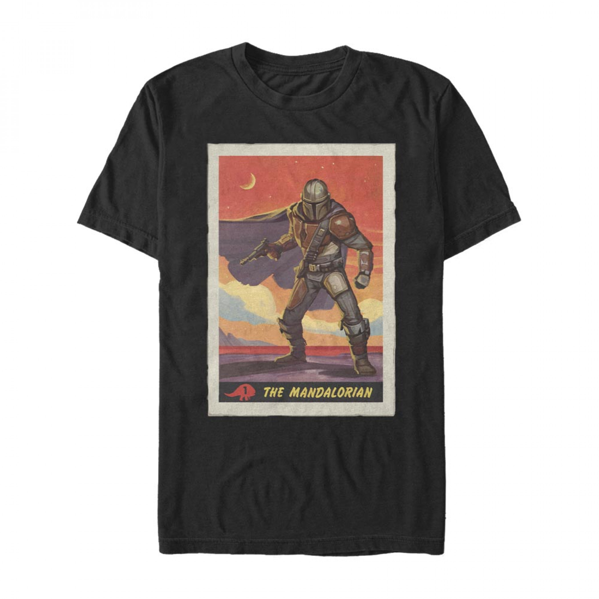 The Mandalorian Trading Card T-Shirt