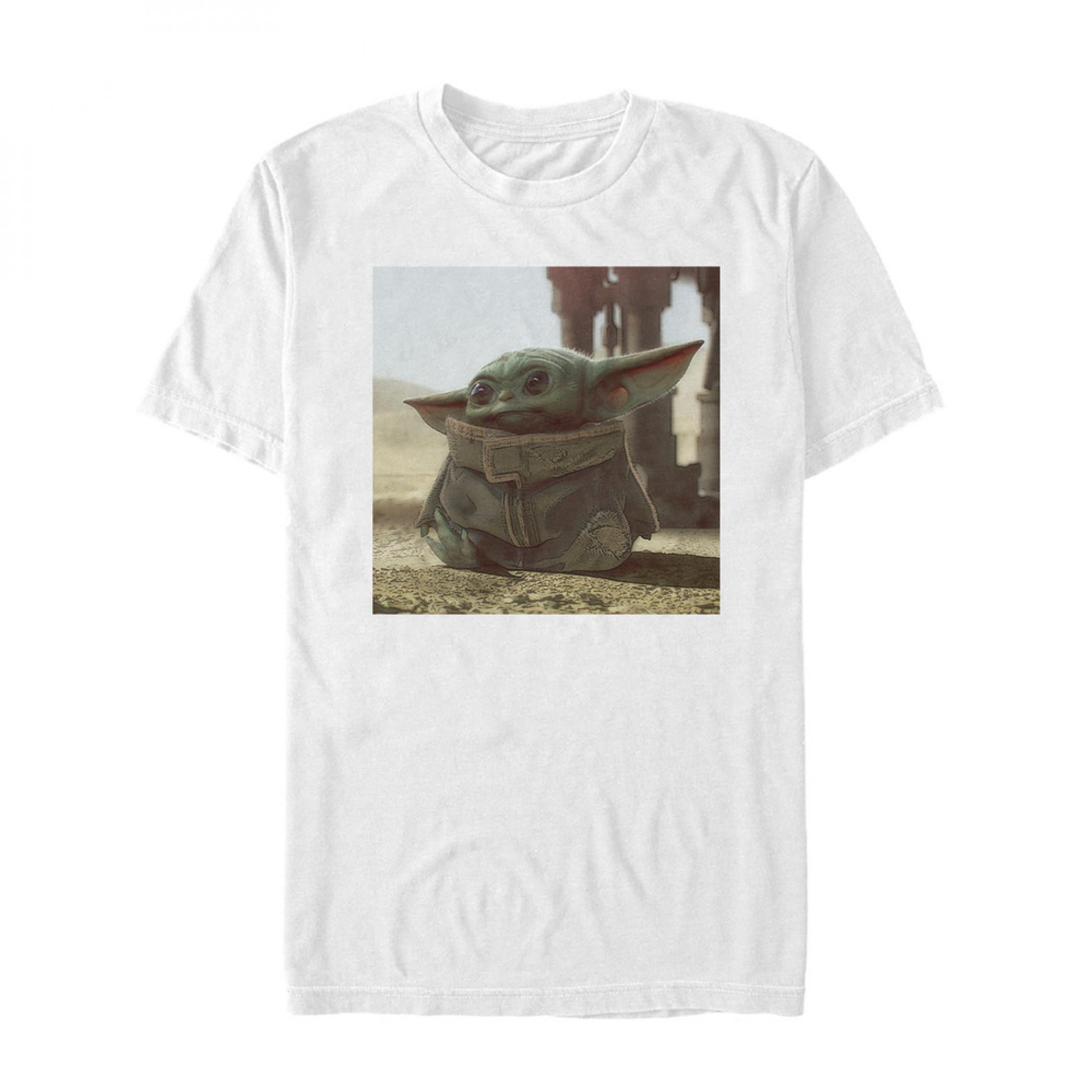 Star Wars The Mandalorian The Child White T-Shirt