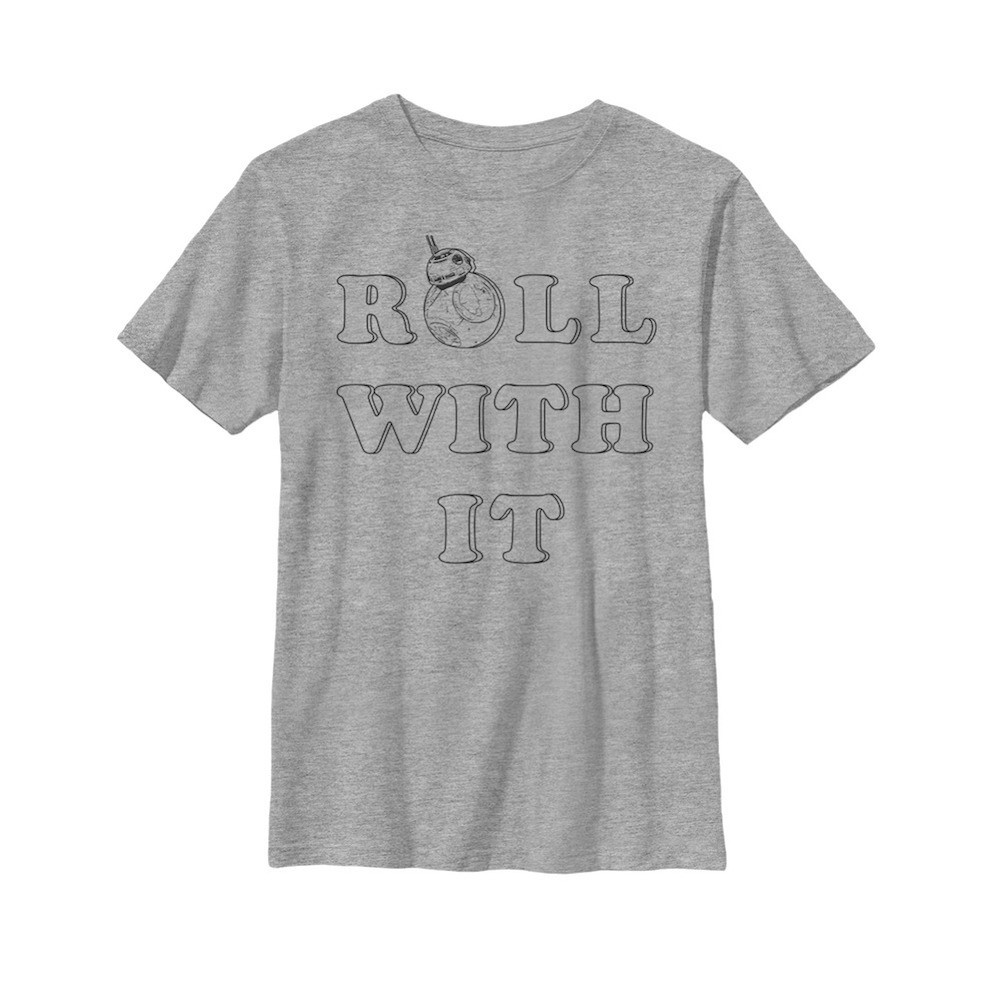 Star Wars Roll With It Youth Tshirt