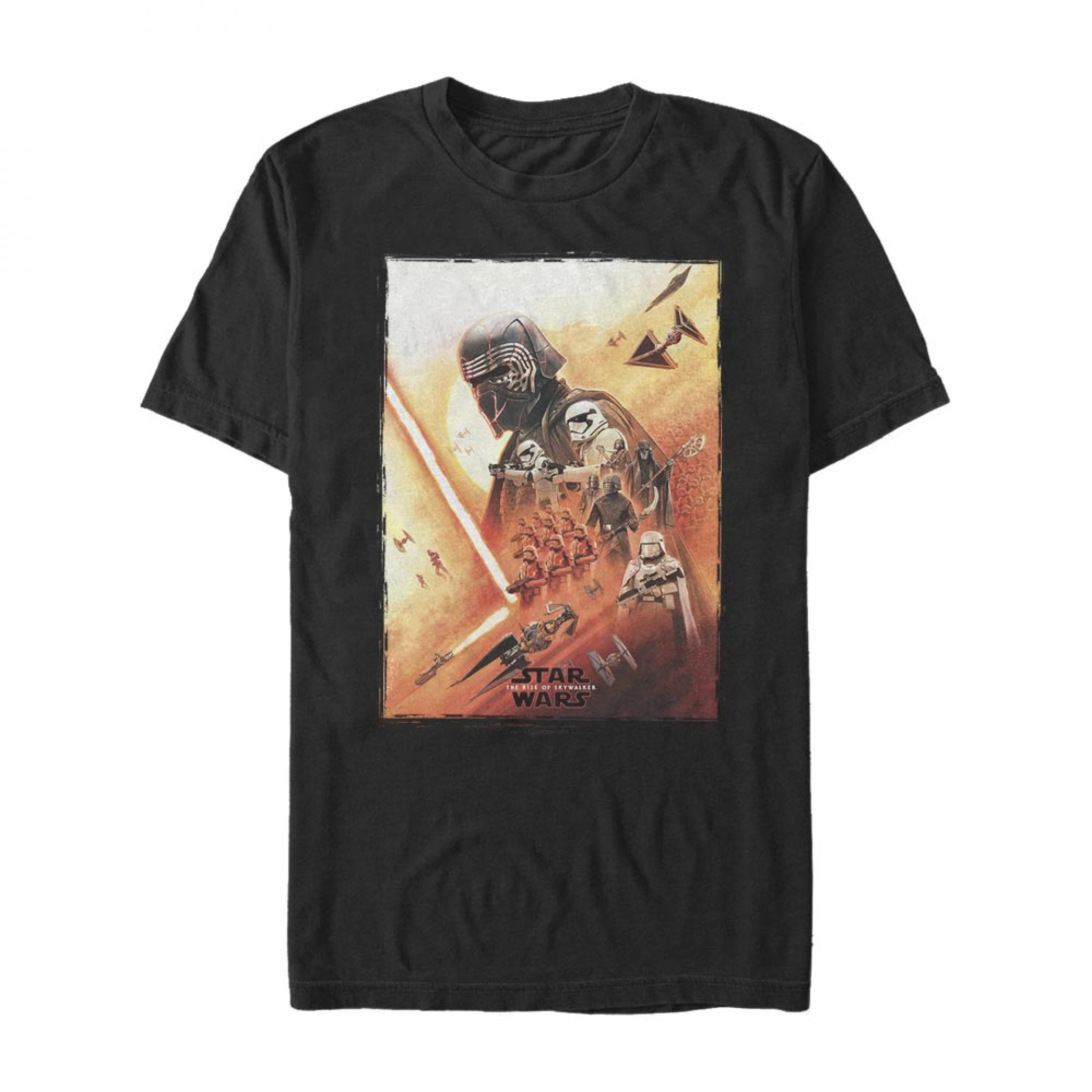 Star Wars The Rise of Skywalker Kylo Poster T-Shirt
