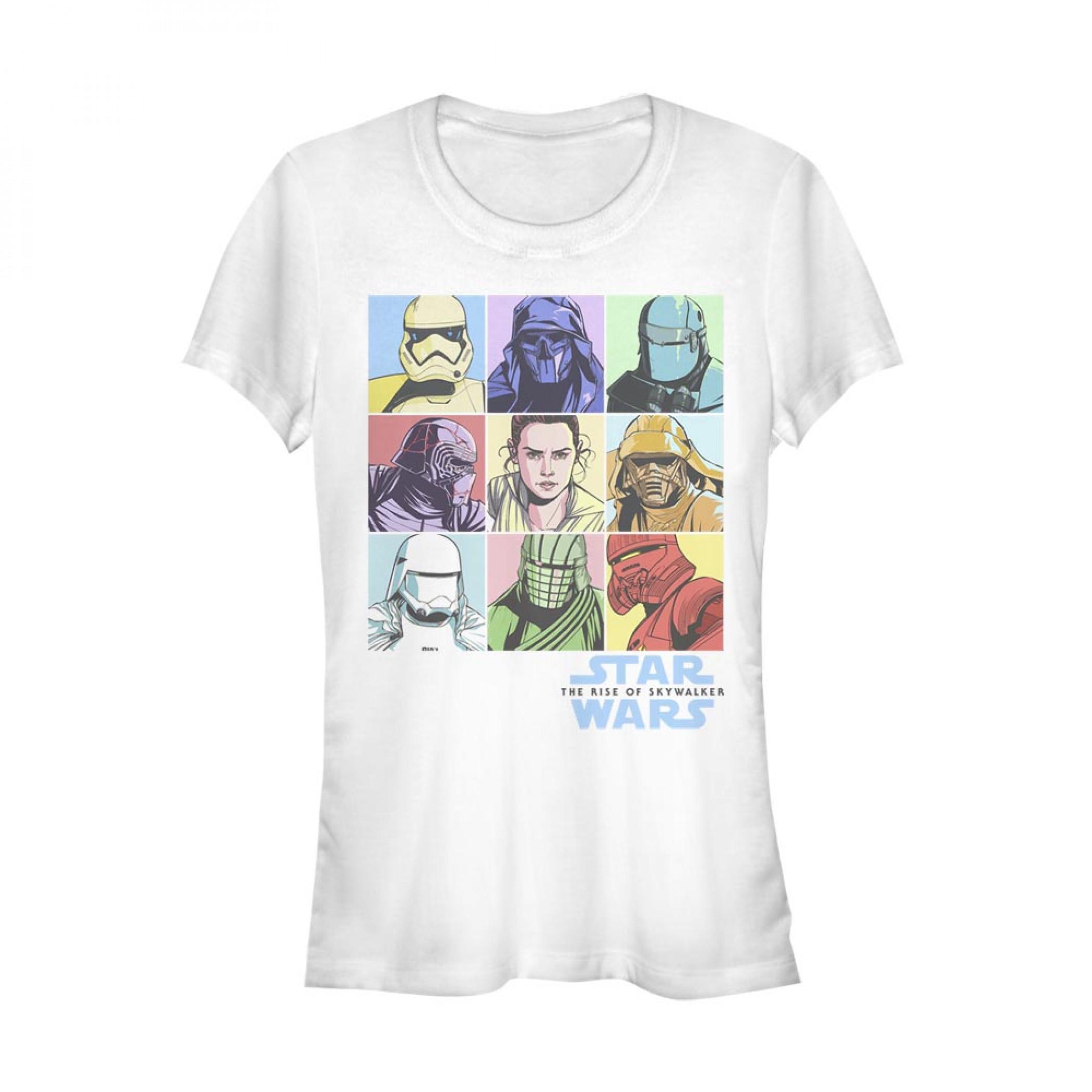 Star Wars The Rise of Skywalker Pastels Women's T-Shirt
