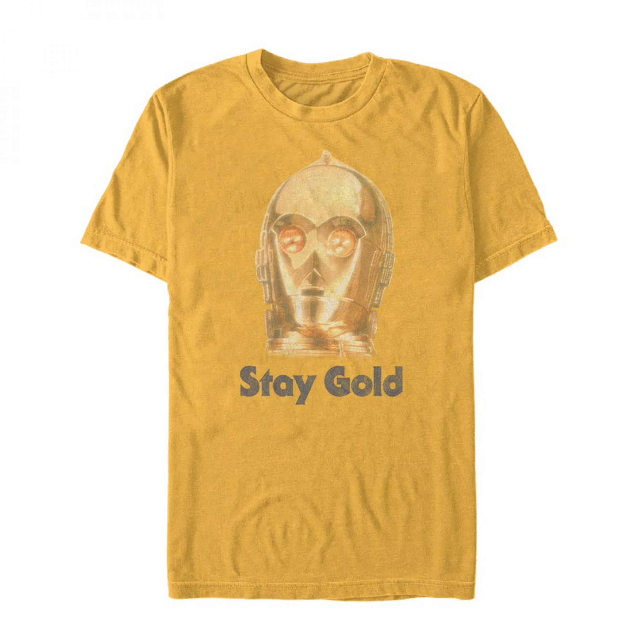 Star Wars The Rise of Skywalker C-3PO Stay Gold T-Shirt