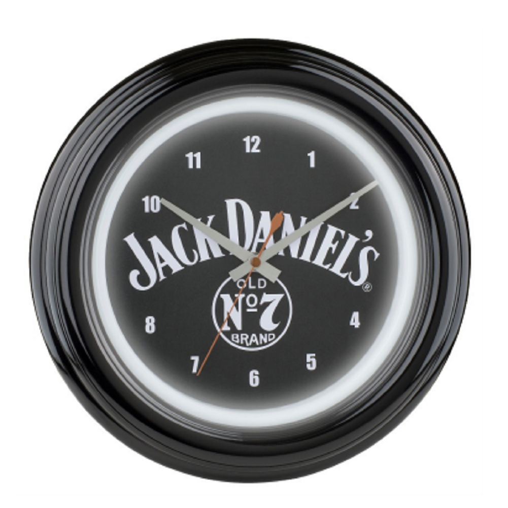 Jack Daniels Old No. 7 LED Clock