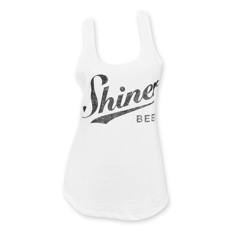 Shiner Beers White Women's Tank Top