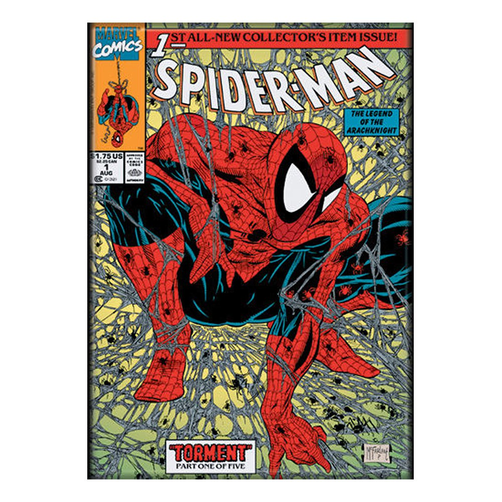Spiderman Comic Cover Magnet