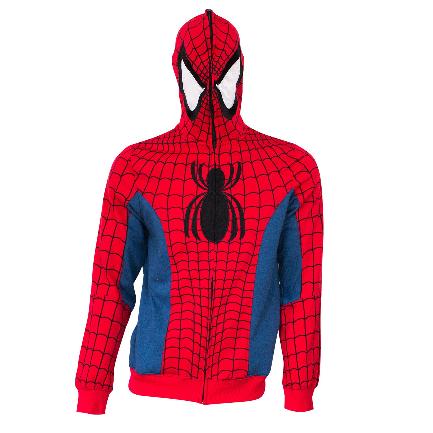 Spider-Man Full Zip Sublimated Costume Hoodie