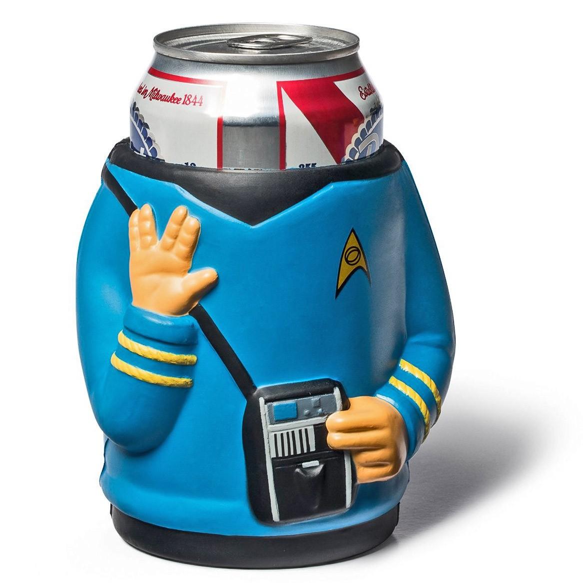 Star Trek Spock Foam Beer Can Cooler