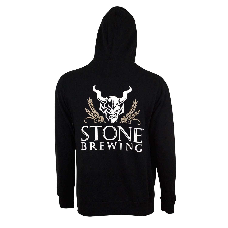 Stone Brewing Black 4.0 Zip Hoodie