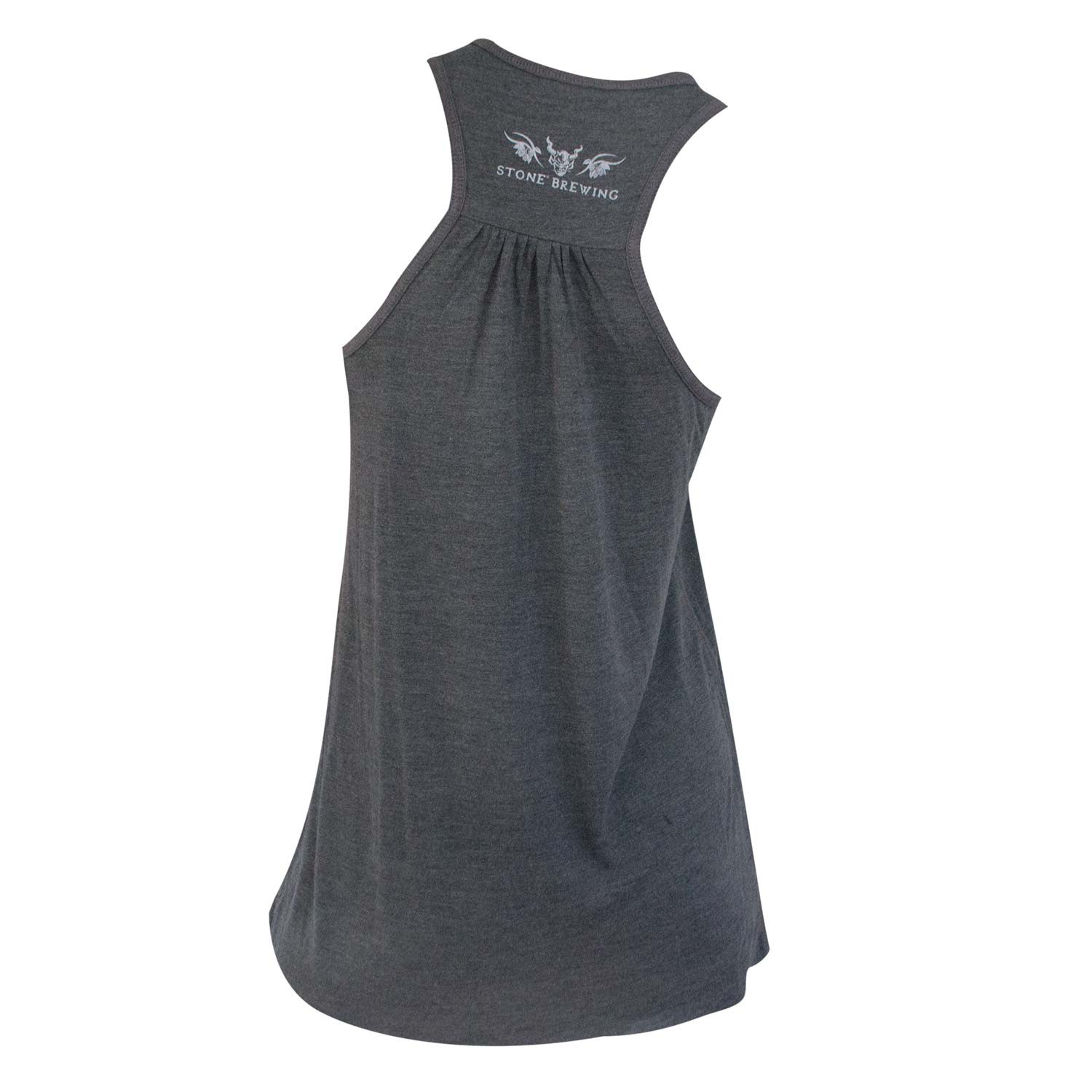 Stone Brewing Co. Girl Forevermore Ladies Grey Racerback Tank Top
