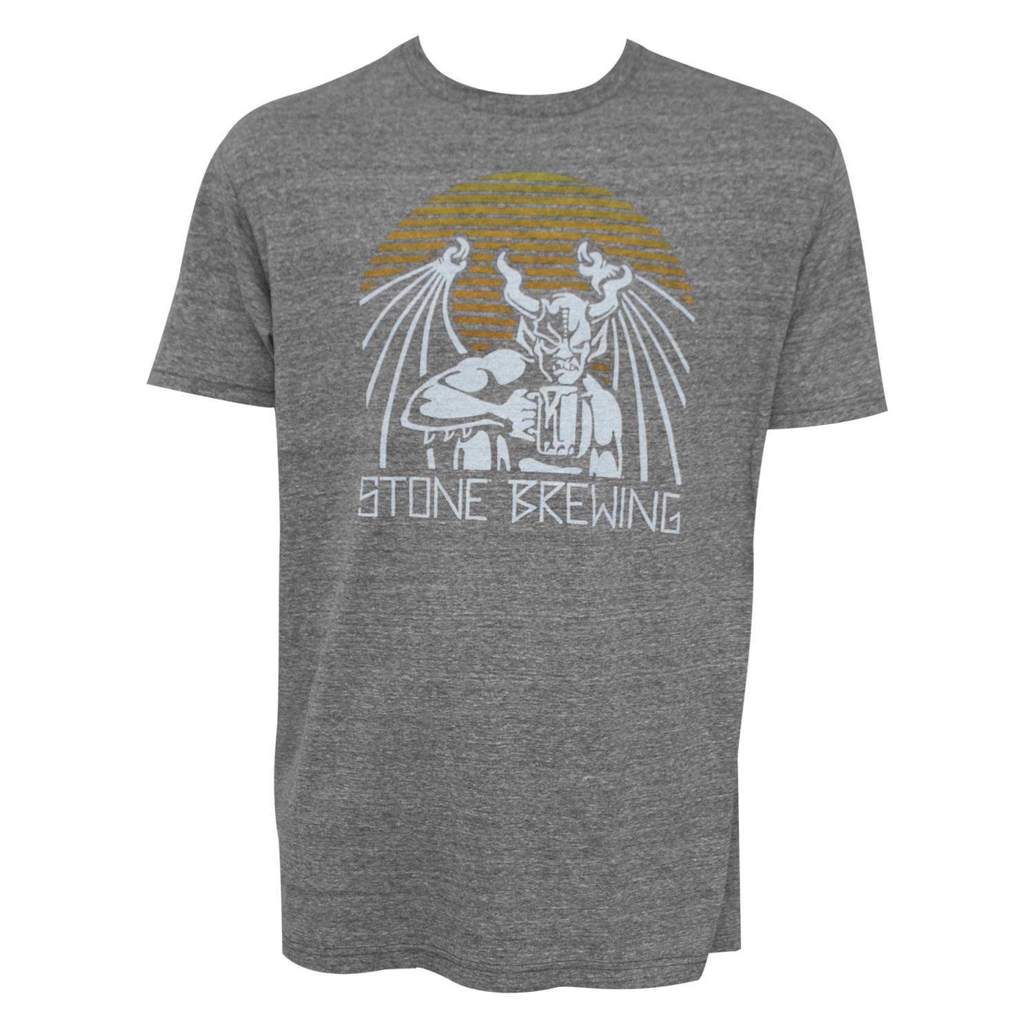 Stone Brewing Co. Archetype Grey Tee Shirt