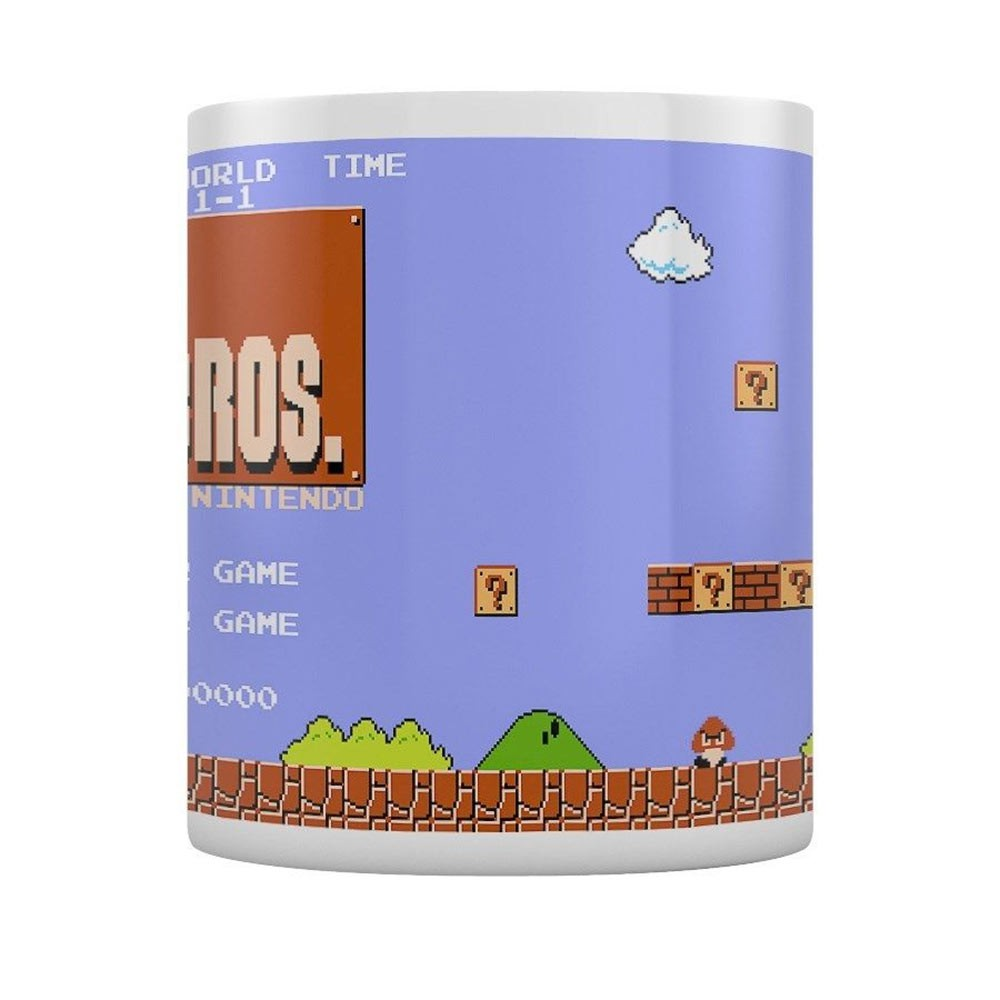 Super Mario Brothers Level One Coffee Mug