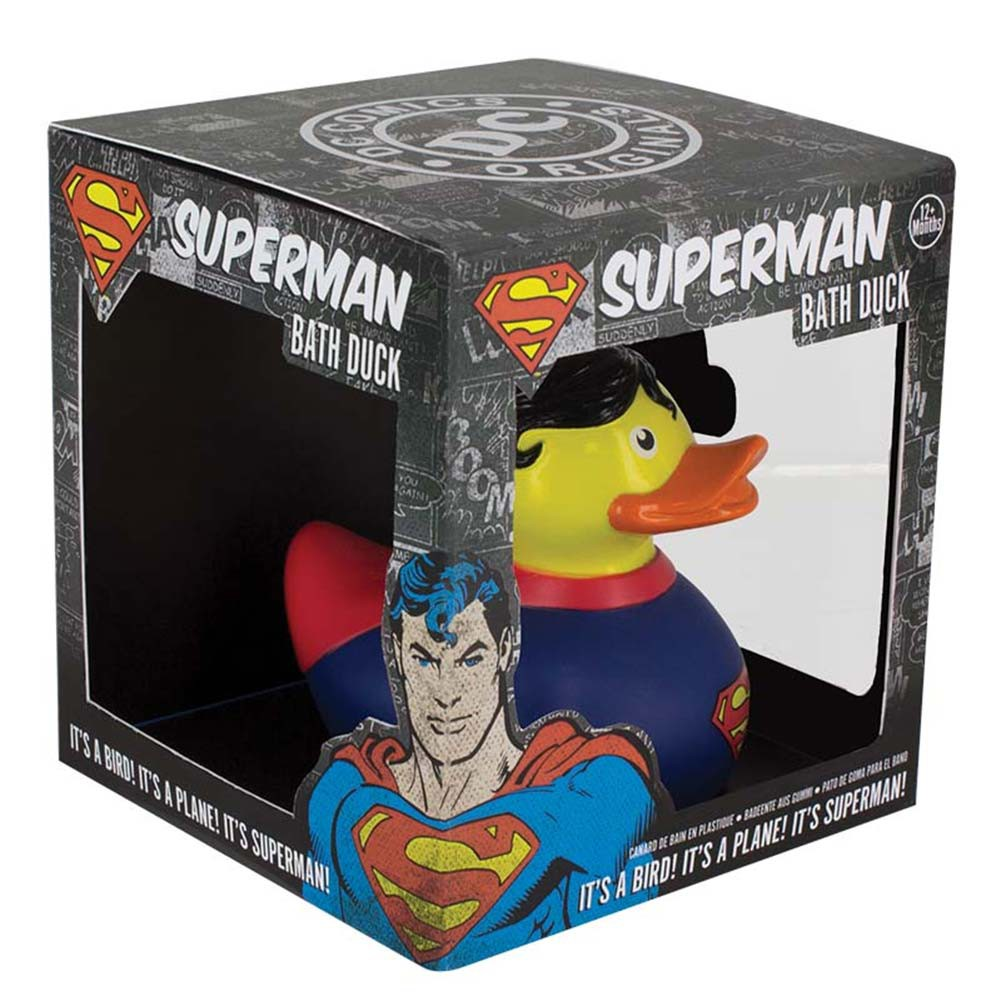 Superman Rubber Ducky