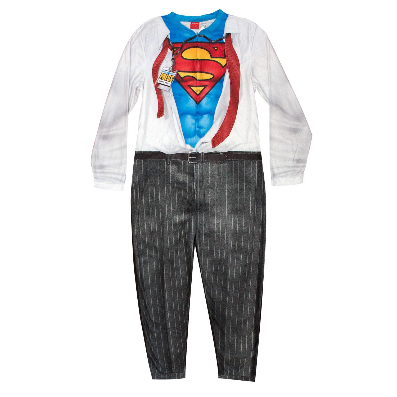 Superman Clark Kent Men's Pajama Union Suit